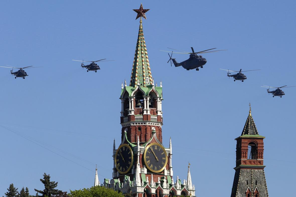 Moskevské oslavy výročí konce války