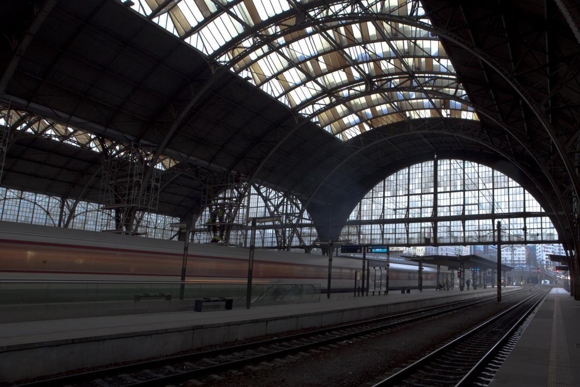 Hlavní nádraží v Praze