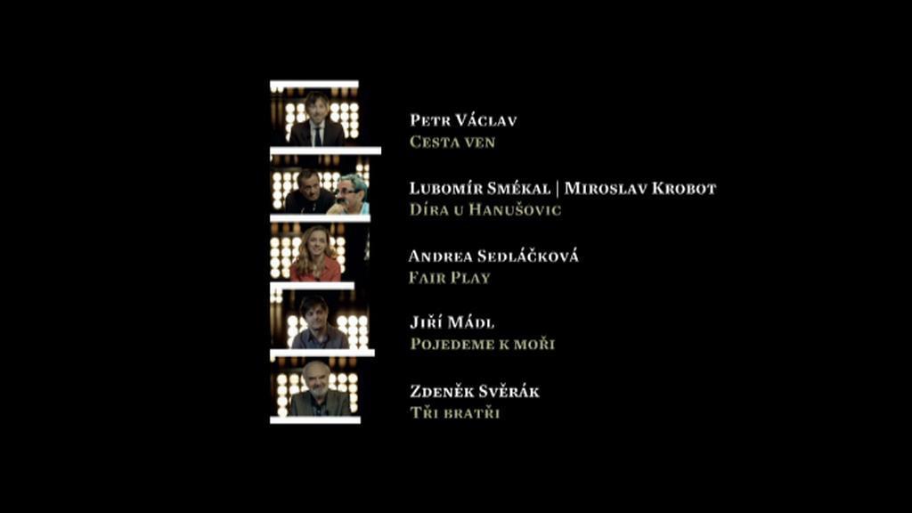 Nominace Český lev: nejlepší scénář