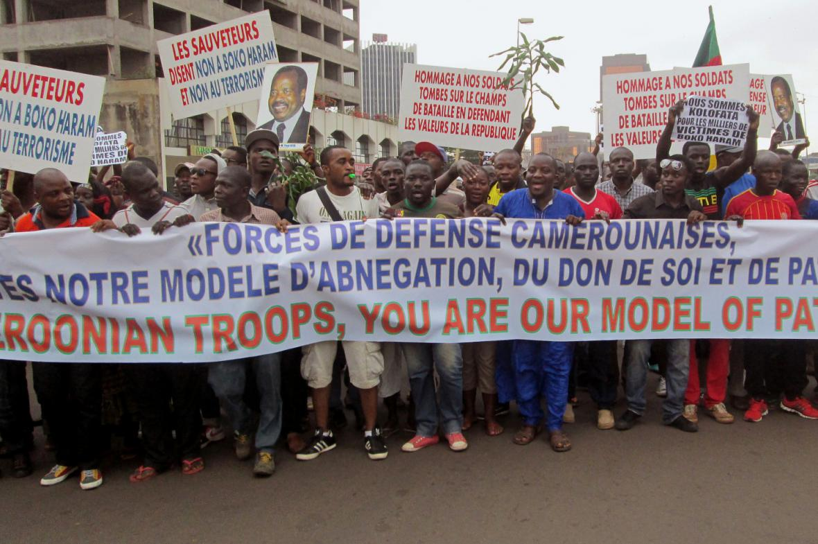 Protesty proti Boko Haram