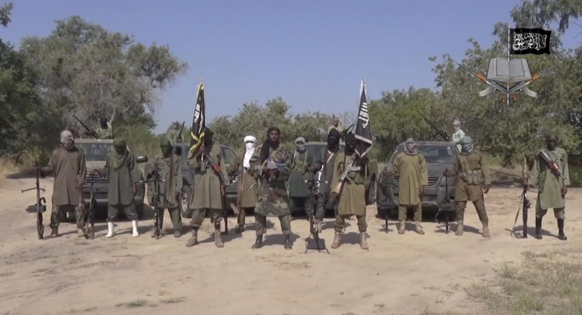 Video islamistů Boko Haram