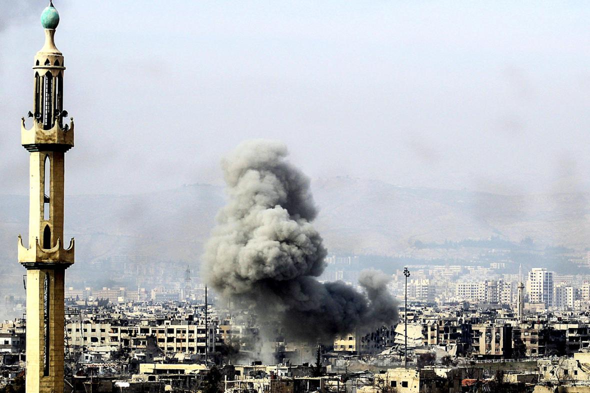 Nálety na Damašek
