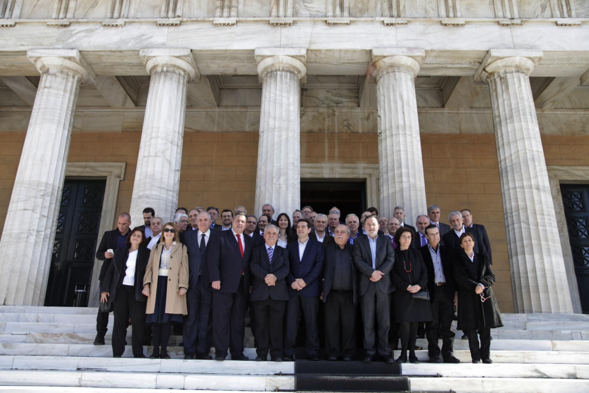 Řecko má novou vládu