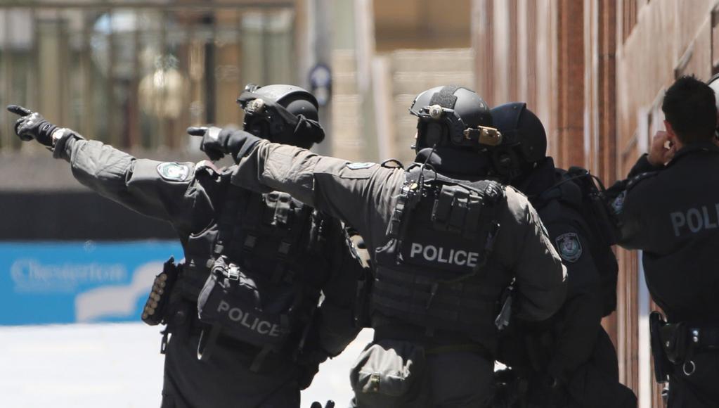 Australské zásahové jednotky