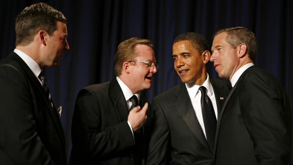 Williams (zcela vpravo) na recepci v Bílém domě