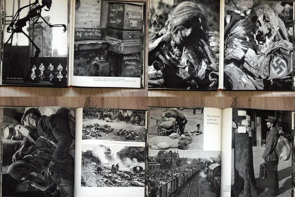 Fotografie Richarda Petera z knihy Dresden - Eine Kamera klagt an