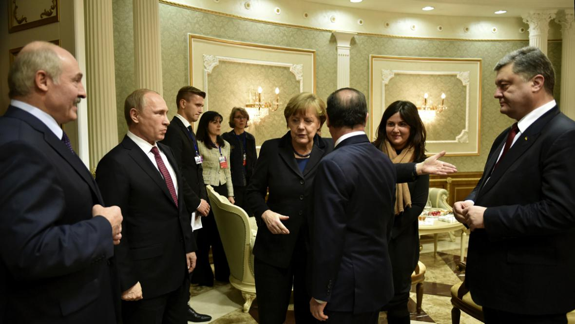 V Minsku začala schůzka normandské čtyřky