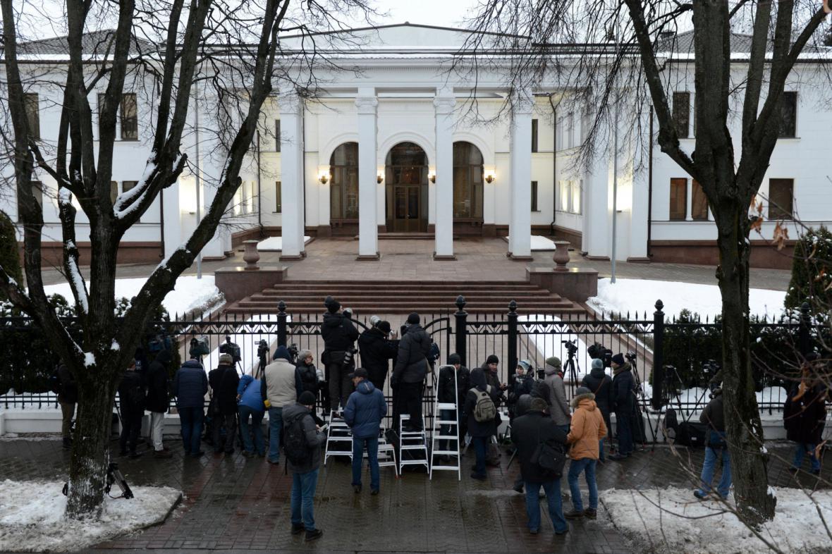 Přípravy na summit v Minsku