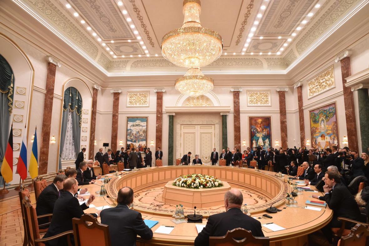 Minský summit normandské čytřky