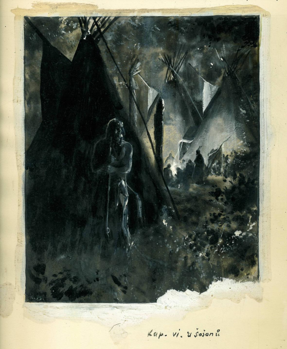 Ilustrace Zdeňka Buriana