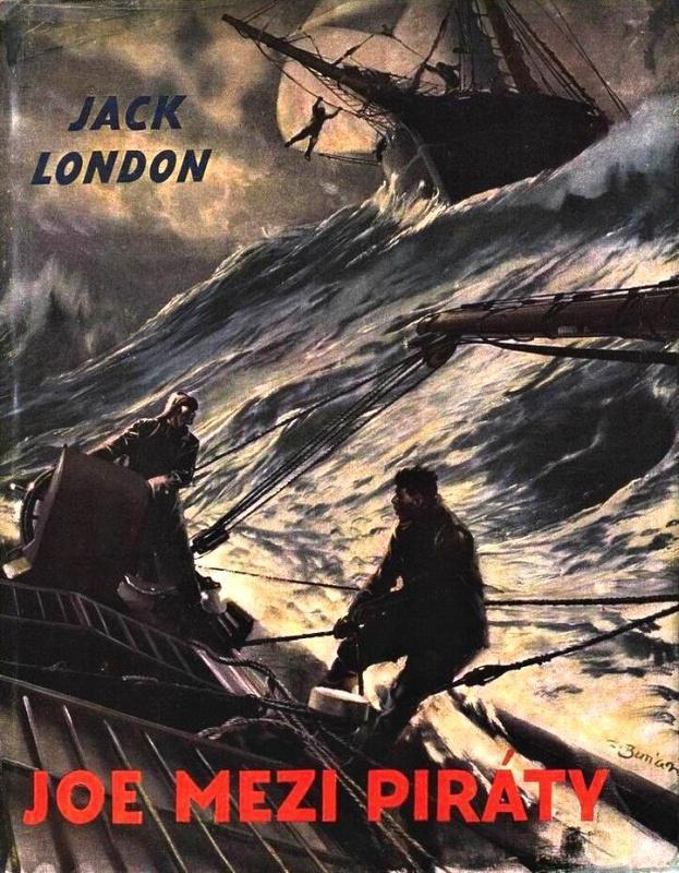 Burianova obálka knihy  Joe mezi piráty