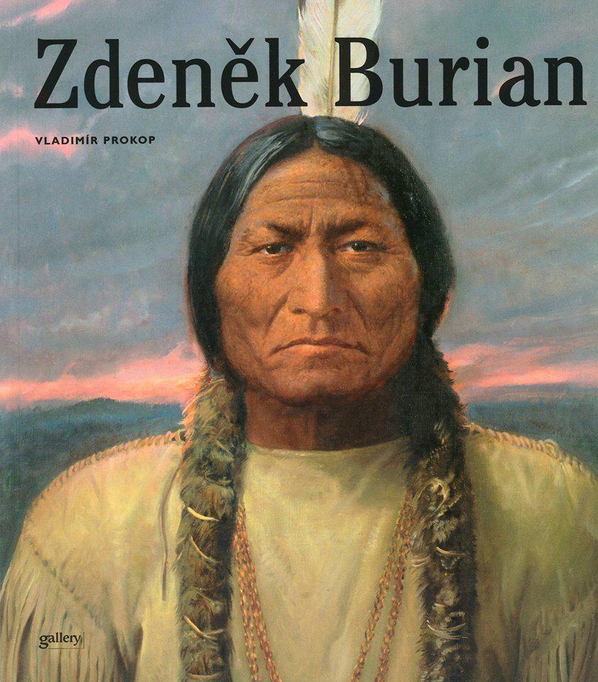 Obálka monografie Zdeněk Burian