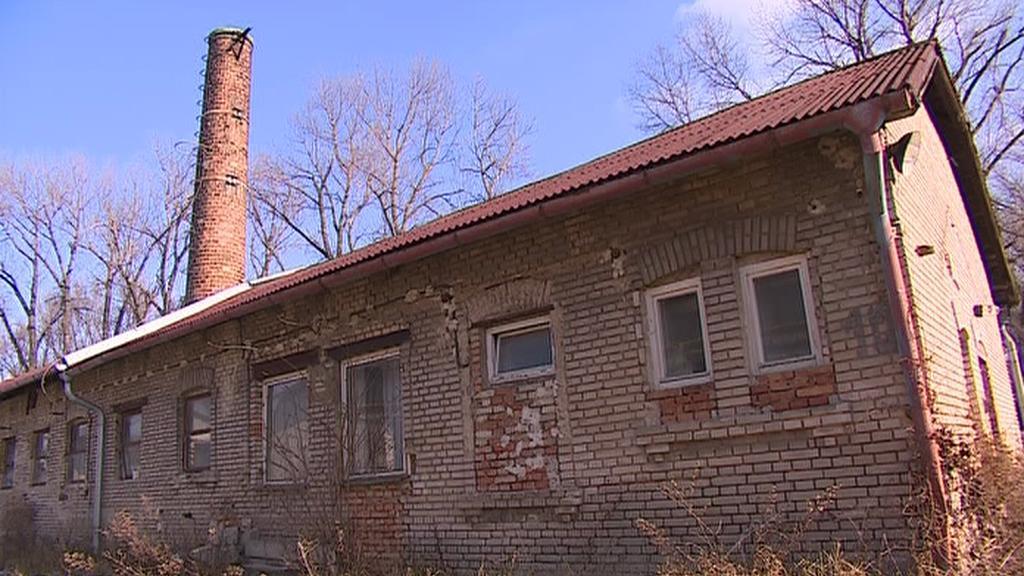 Objekt Svatobořic, kde byl internační tábor pro děti