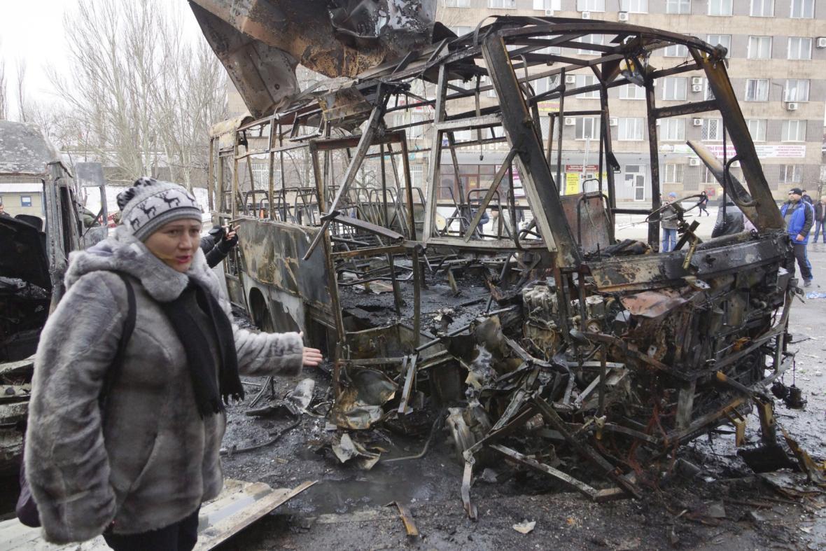 Důsledky bojů na východní Ukrajině