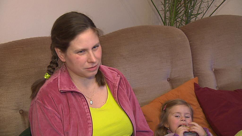Klára Krouzová, matka s roztroušenou sklerózou
