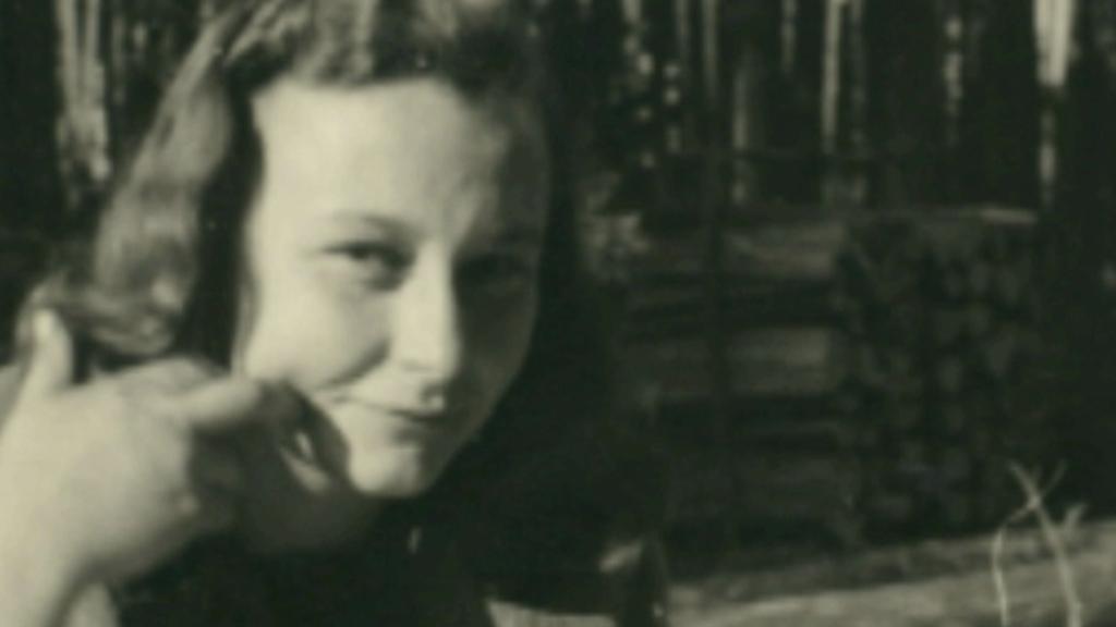 Irena Hešová za mlada
