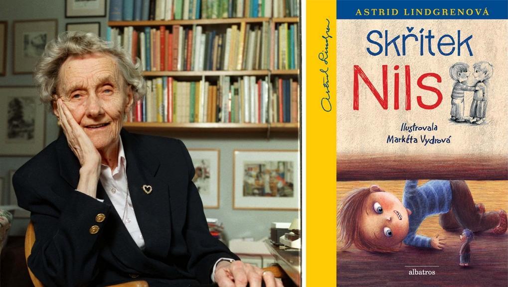 Astrid Lindgrenová a kniha Skřítek Nils
