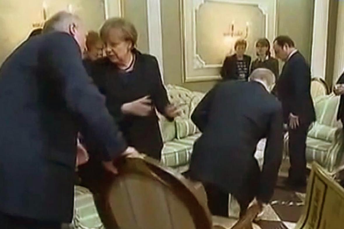 Putin a Lukašenko se přetahují o křeslo