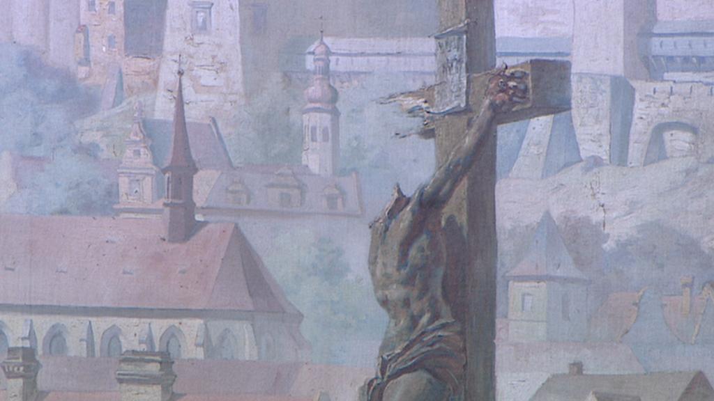 Detail obrazu - bitva se Švédy