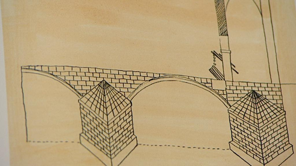 Součástí Karlova mostu byl padací most