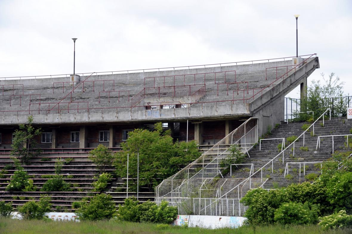 Stadion Za Lužánkami v roce 2013