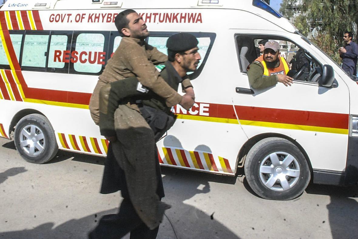 Útok na mešitu v Péšávaru