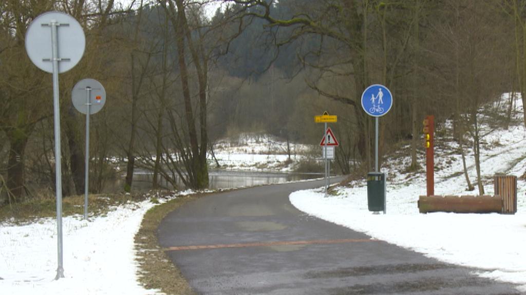 Cyklostezka u Ledče nad Sázavou