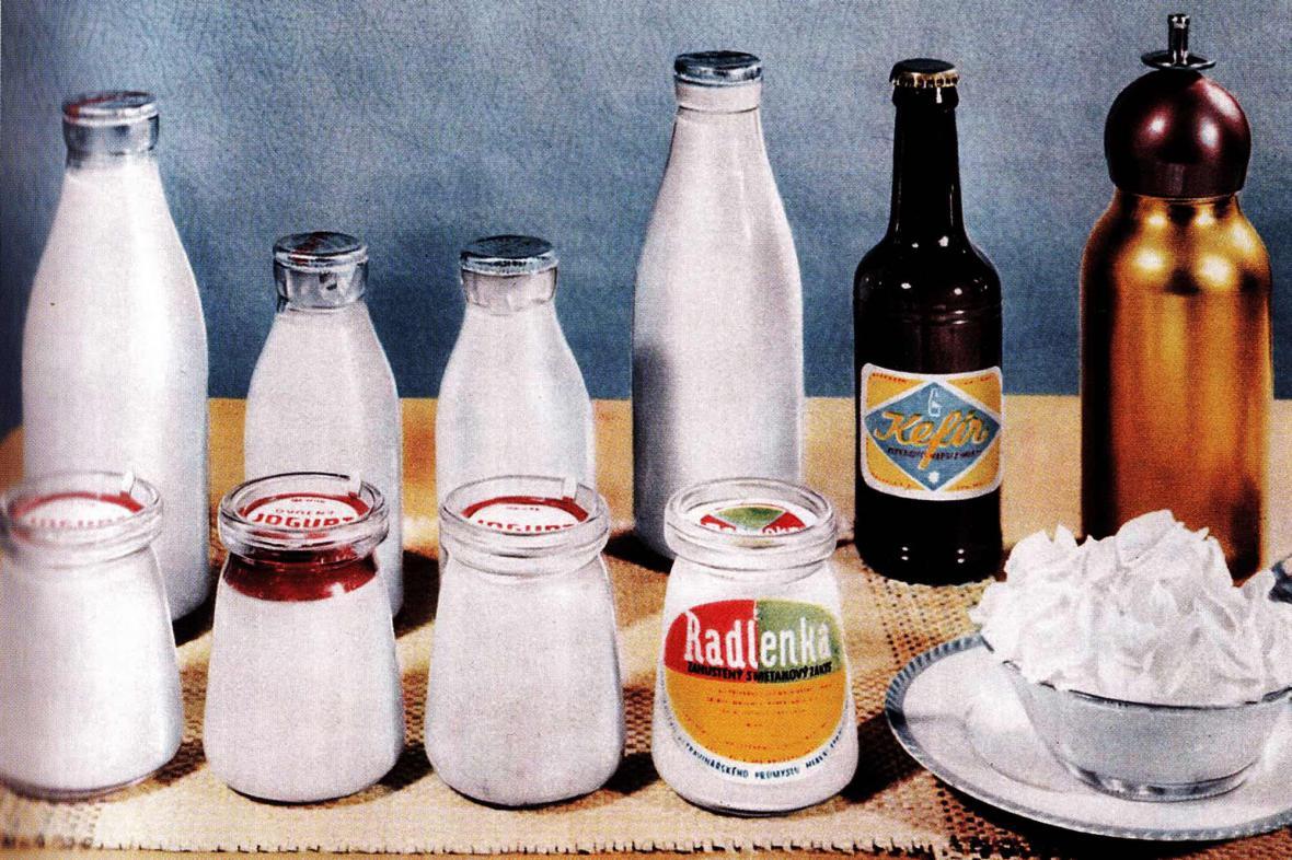 Retro - mléko