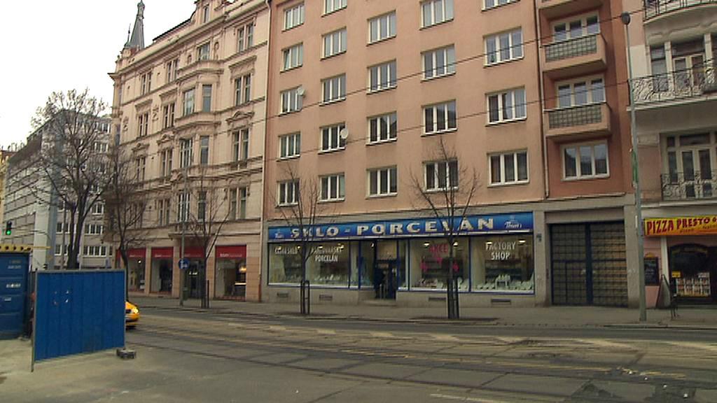 Dnešní podoba domu číslo 1254 ve Vinohradské ulici