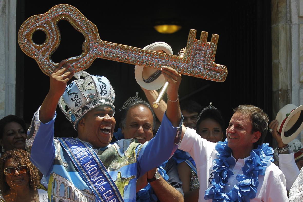 Zahájení karnevalu v Riu