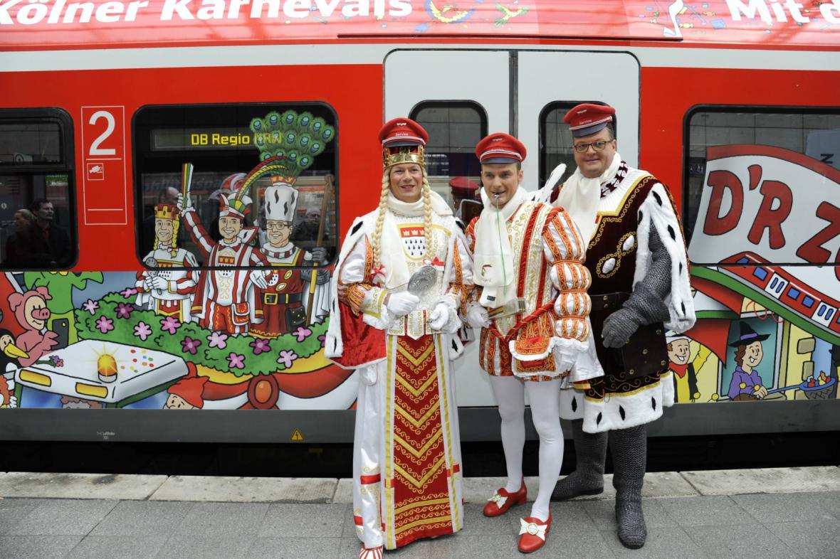 Začátek karnevalu v Kolíně nad Rýnem