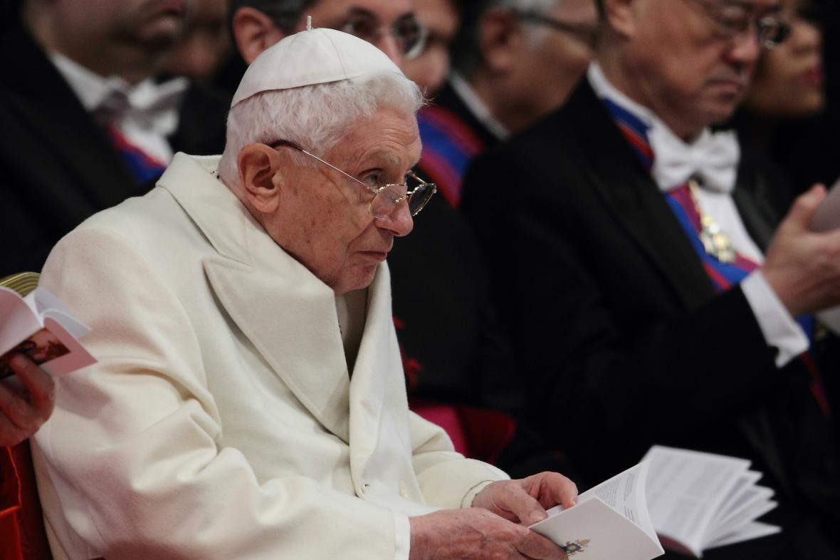 Emeritní papež Benedikt XVI.