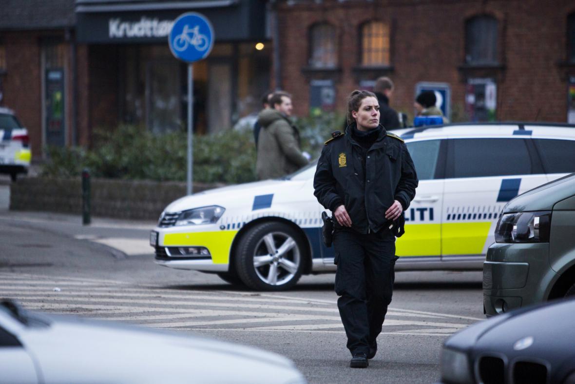 Střelba v kodaňské kavárně
