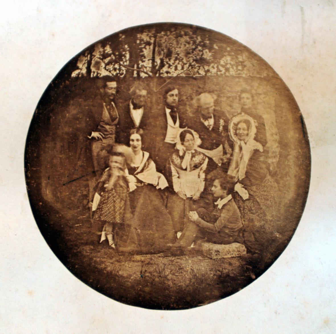 Nejstarší portrétní fotografie na českém území
