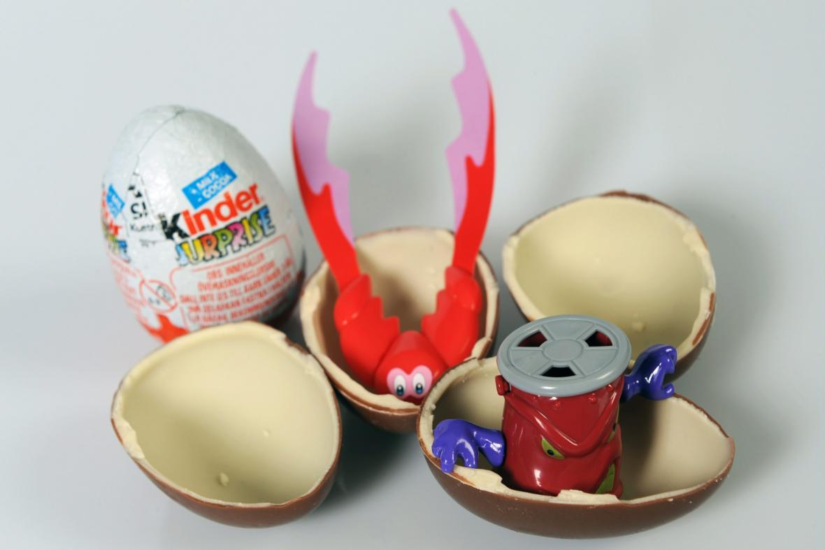 Kinder vajíčko s překvapením