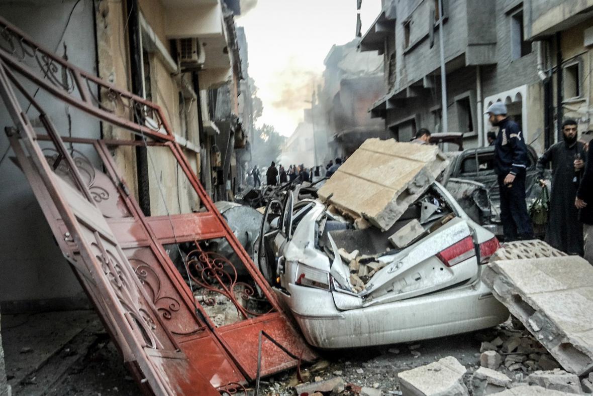 Egypt se mstí islamistům v Libyi