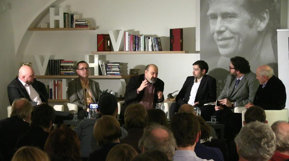 Debata v Knihovně Václava Havla