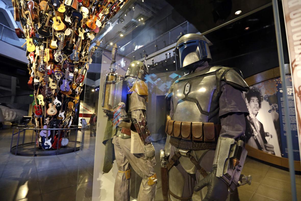 Putovní výstava kostýmů Star Wars
