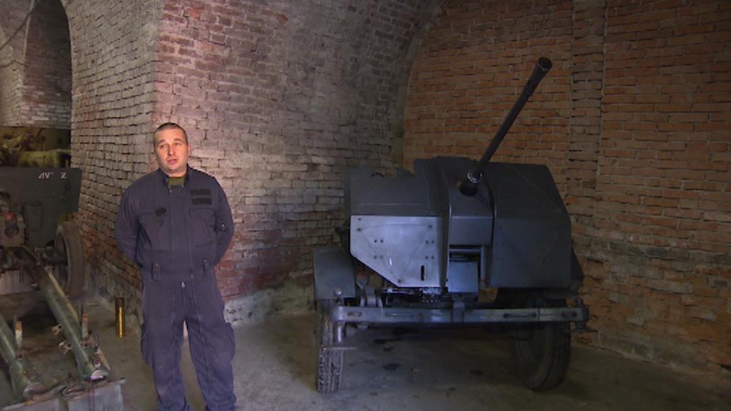 Protiletadlový kanon z 2. světové války