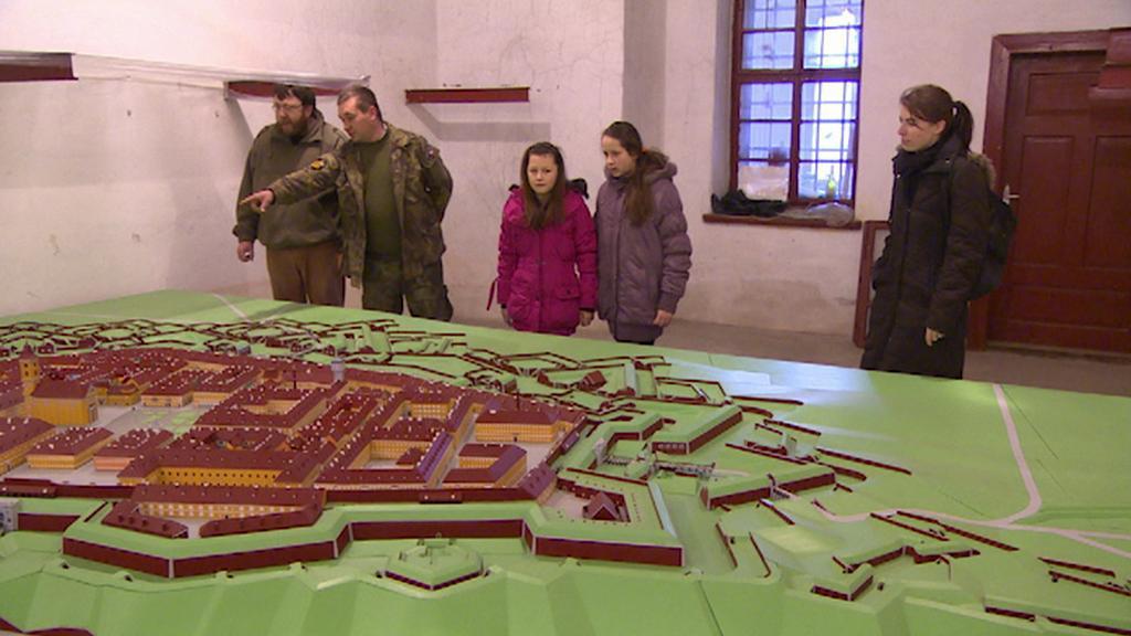 Model pevnosti Josefov