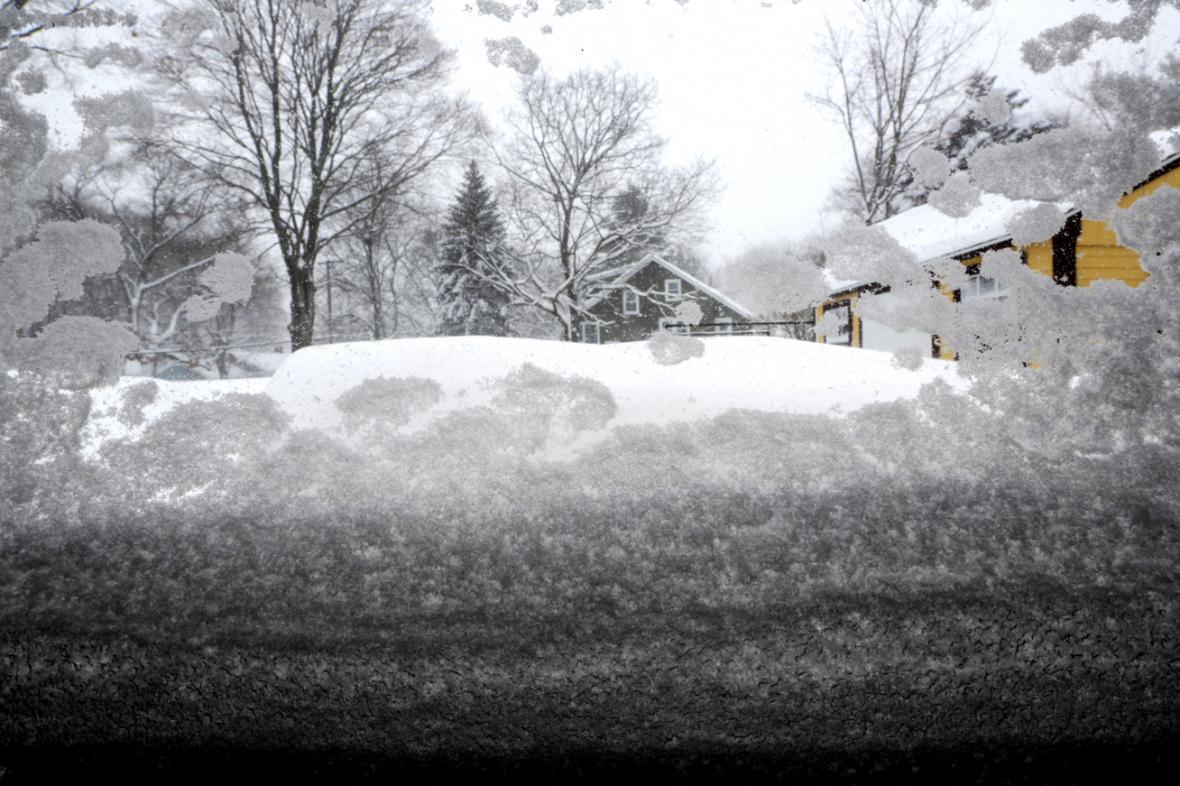 Sněhová kalamita v Massachusetts