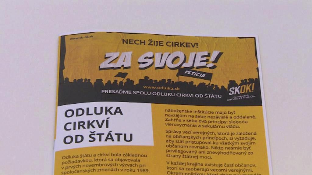 Kampaň strany Skok