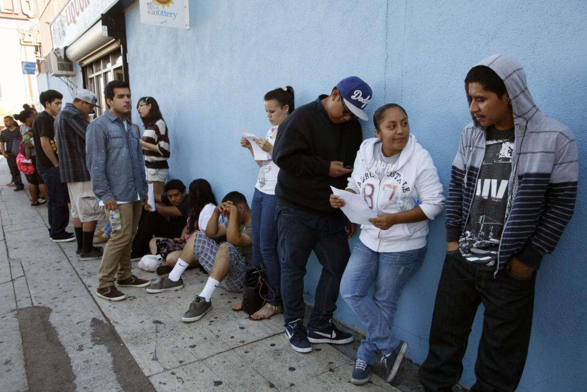 Imigranti v USA