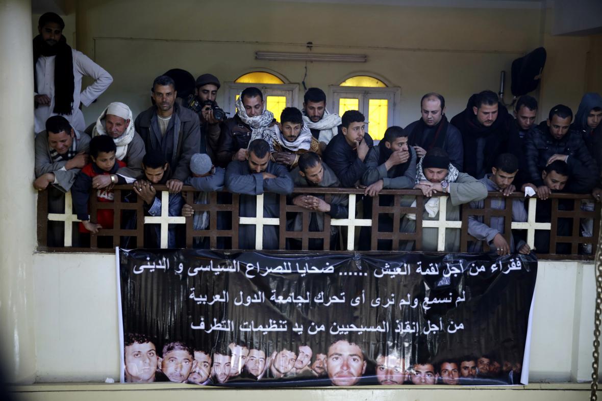 Egypt oplakává mrtvé kopty