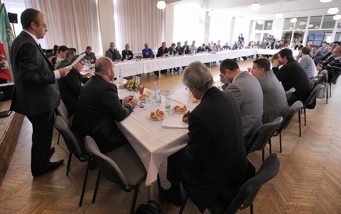 Jednání o Rožné v Bystřici nad Pernštejnem