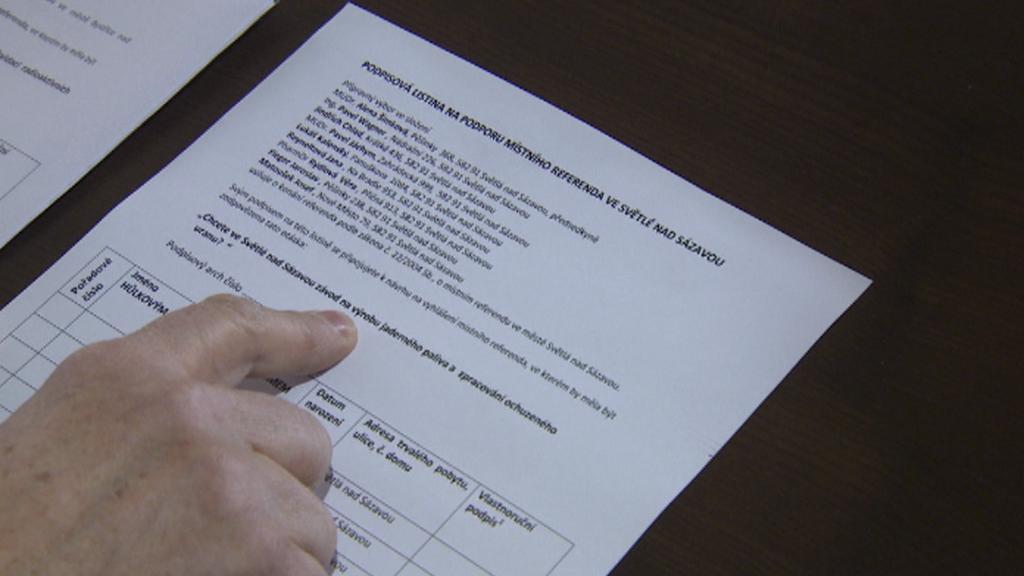 Petice za vypsání referenda