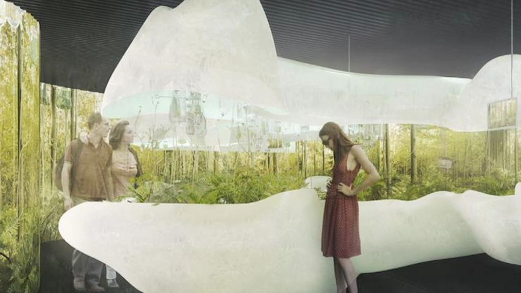 Vizualizace českého pavilonu na EXPO