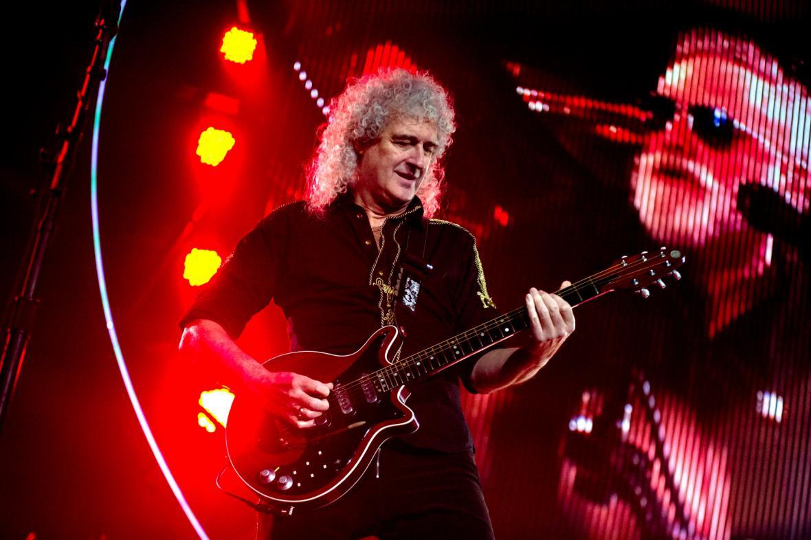 Kytarista Queen Brian May