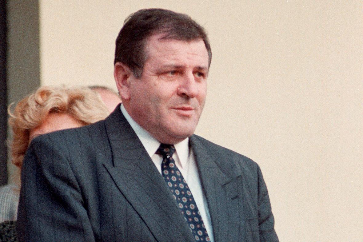 Vladimír Mečiar během jednání o dělení Československa