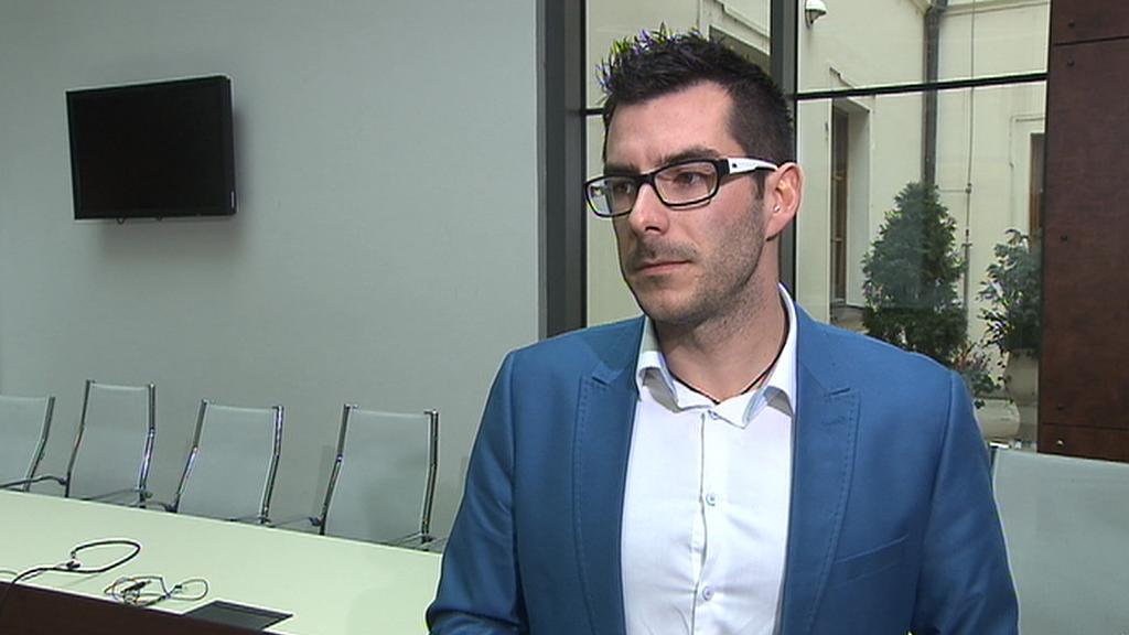Místopředseda poslaneckého klubu Úsvitu - Petr Adam